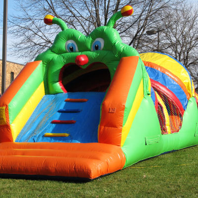 Caterpillar-Slide-and-Climb-Chicago-Party-Rentals