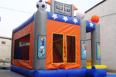 Combo 4-in-1 Sport Theme Chicago Party Rental
