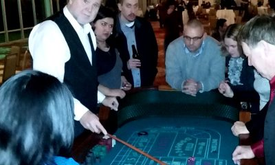 Craps Table For Casino Themed Event Rentals