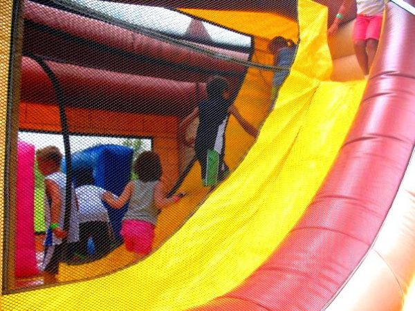 Moon Bounce interior Inflatable Chicago Party Rentals