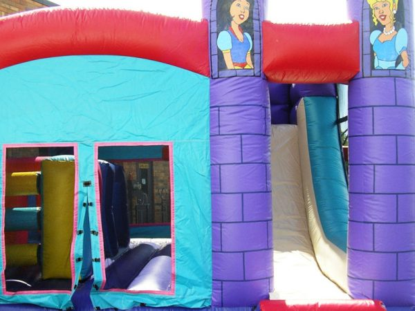Combo-4-in-1-Character-Castle-Chicago-Party-Rental