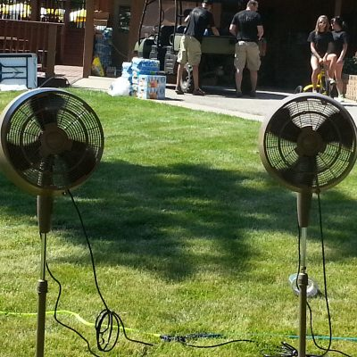 Fans-chicago-event-rental