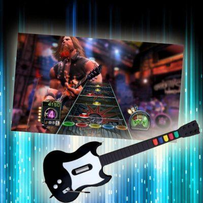 Guitar-Hero-chicago-arcade-rental