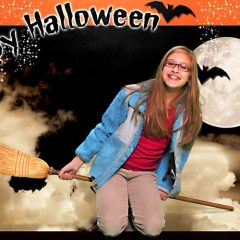 Halloween Background Green screen Chicago Party Rentals