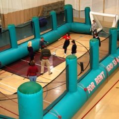 Human Foosball Inflatable Chicago Party Rentals