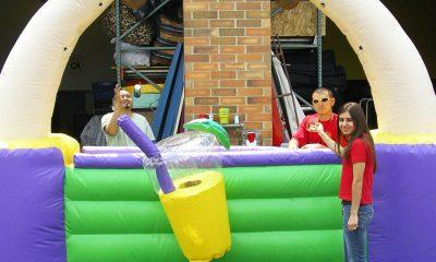 Rental Inflatable Tiki Bar For Luau Themed Event