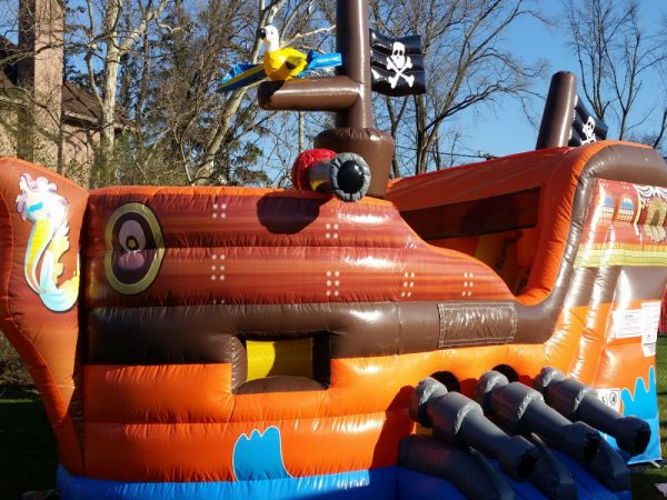 Pirate-Ship-Combo-Unit-Chicago-Inflatable-Rental