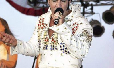 Elvis Impersonator For Decades Themed Event