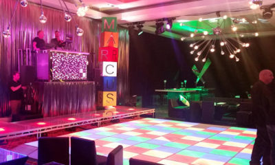 Rental Neon Glow Party For Rave Themed Event