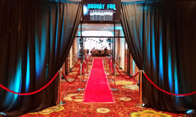 Red Carpet For A Hollywood Themed Event Rentals