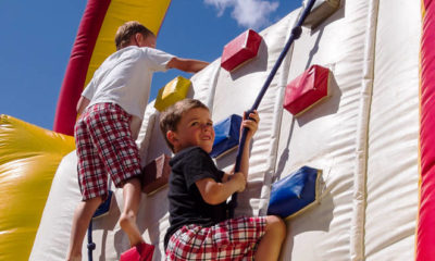 Rental Inflatable Climbing Wall For Themed Event