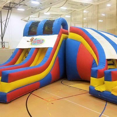 Super-Duo-slide-chicago-inflatable-slide-rental